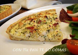 Con tu pan te lo comas: QUICHE DE POLLO (LIGHT)