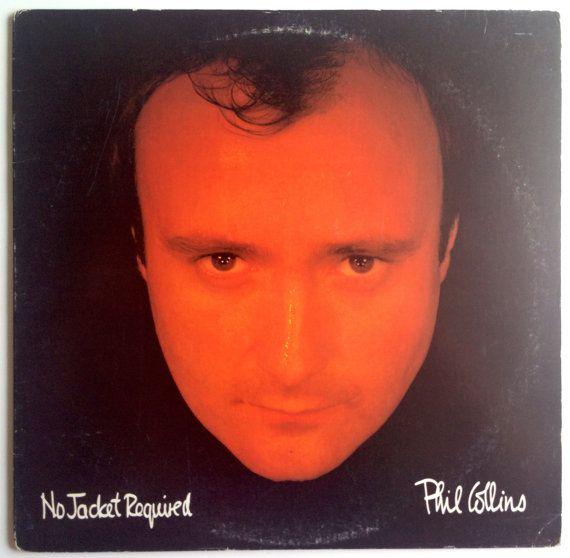 Phil Collins - No Jacket Required LP Vinyl Record Album, Atlantic - A1 81240, Synth-Pop, 1985, Club Edition Original Pressing