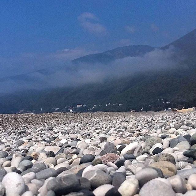 Гагрский пляж  #гагра #абхазия #пляж #галька #каменныйберег #камни #виднагоры #туман #вид #отдых #каникулы #путешествия #путешественник #фото #gagra #abkhazia #beach #beautiful #pebblebeach #stonebeach #fog #veiw #rest #holidays #traveling #travel #traveller #day #foto #instame #montereylocals #pebblebeachlocals - posted by  https://www.instagram.com/natalya_blank. See more of Pebble Beach at http://pebblebeachlocals.com/