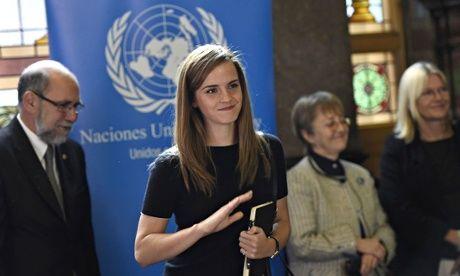 UN goodwill ambassador Emma Watson