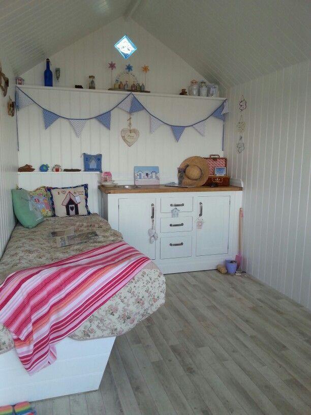 39 best inside the beach hut images on pinterest beach for Beach hut interiors