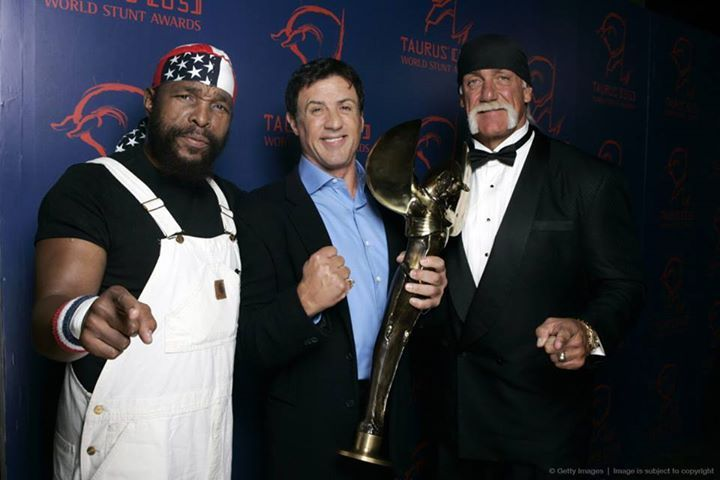 sylvester stallone rocky sly stallone mr t lawrence