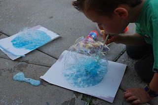 spittlebug bubbles for the very quiet cricket Bubble Recipes   Familylicious Reviews and Giveaways