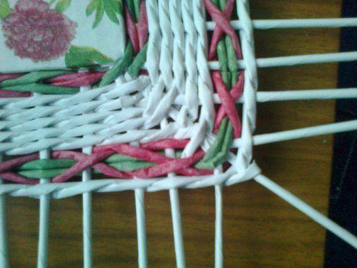 Тема: Маргаритки (галерея margolina) (18/135) - Плетение из газет и другие рукоделия - Плетение из газет