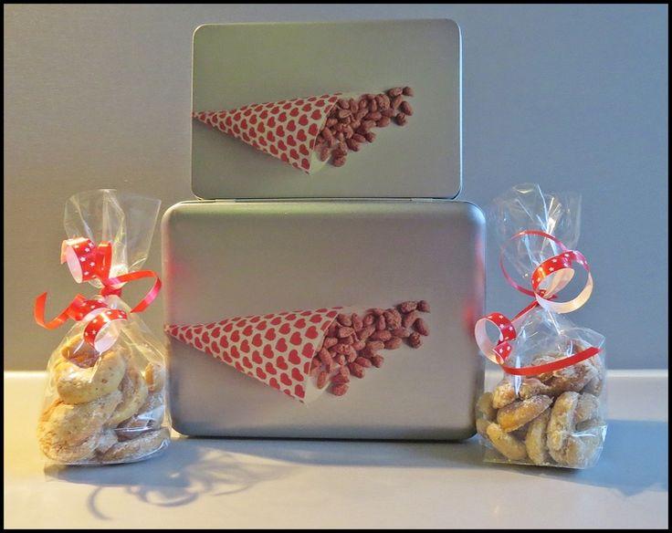 Keksdosen-Set inkl. Plätzchen von Art-MG auf DaWanda.com