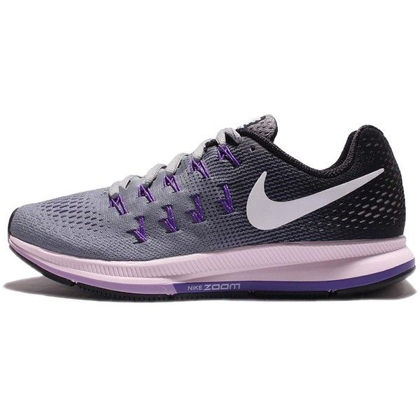 Nike Women's Air Zoom Pegasus 33 Running Shoe ❤ liked on Polyvore featuring shoes, athletic shoes, nike, wide shoes, nike footwear, wide athletic shoes and nike shoes