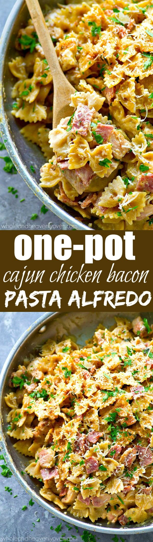 Ready for the ultimate one-pot dinner? This Cajun chicken pasta alfredo is…