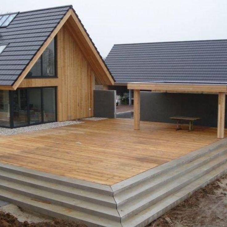 25 beste idee n over gevels op pinterest moderne gevels modern huis exterieur en moderne for Huis voor na exterieur renovaties