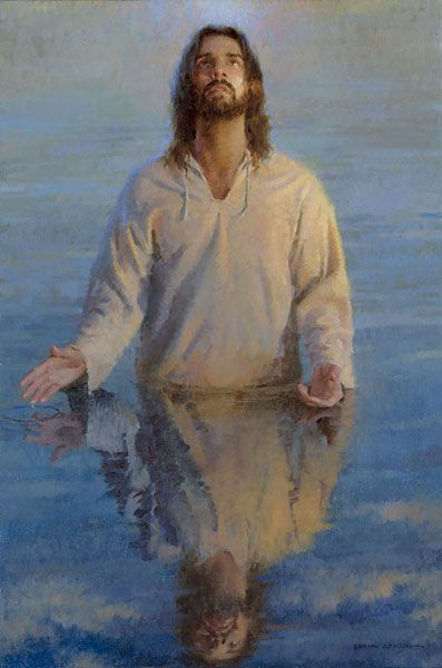 Reflection of God   by Morgan Weistling