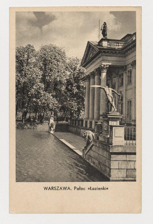 Warszawa. Pałac Łazienki