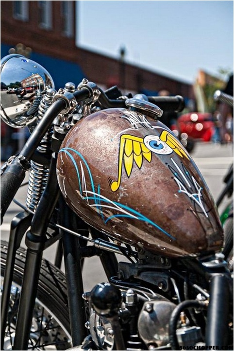57 best images about chops scoots bobs on pinterest for How much to paint a motorcycle