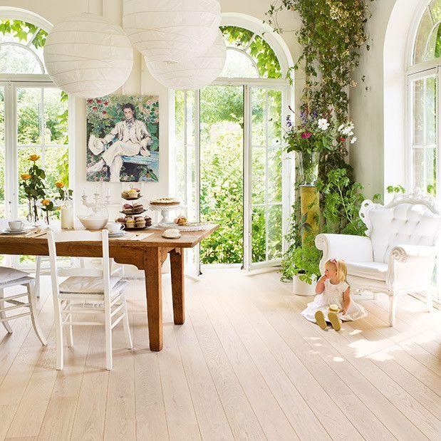 PVC in houtlook - lichte woonkamer