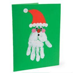 Homemade Christmas cards for children   Mindful Mum