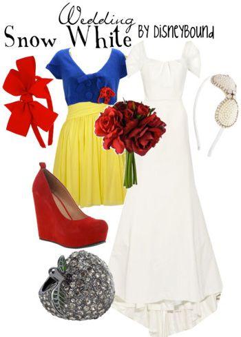 brides maid dress (Snow White)