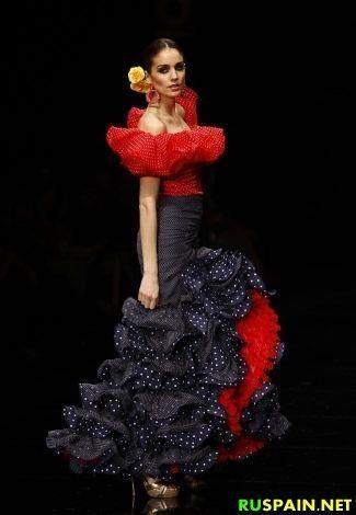 Фото девушки в испанском костюме