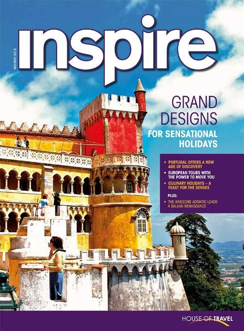 Be inspired by grand designs for sensational holidays in House of Travel's Inspire Magazine.