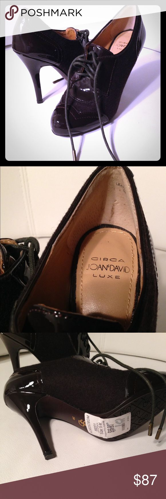CIRCA JOAN & DAVID Luxe Shoes Stylish and comfortable. This shoe looks great.  Can be wear with jeans or dress pants. These Joan & David Collection shoes are brand new. Joan & David Shoes Ankle Boots & Booties
