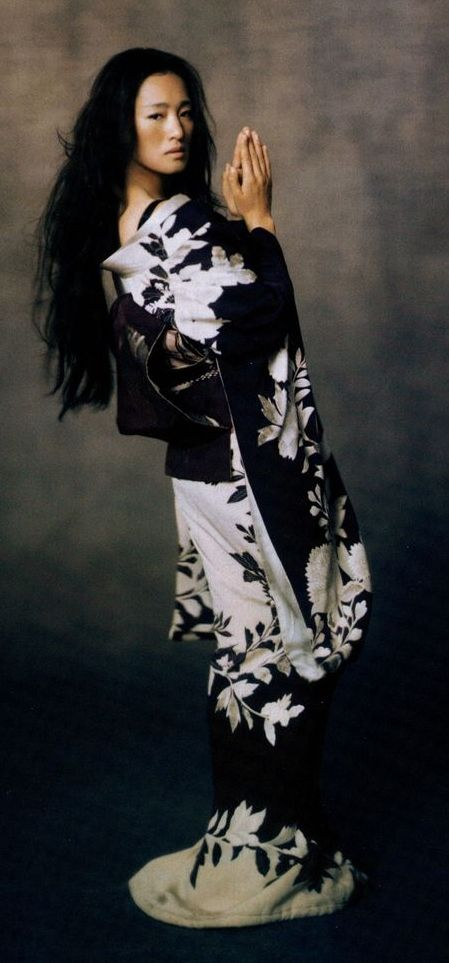 Chinese Actress Gong Li as Geisha Hatsumomo in Memoirs of a Geisha, 2000