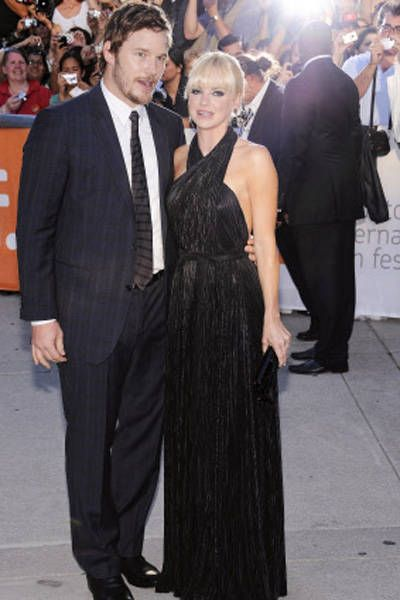 Chris Pratt & Anna Farris.  Greatest couple ever