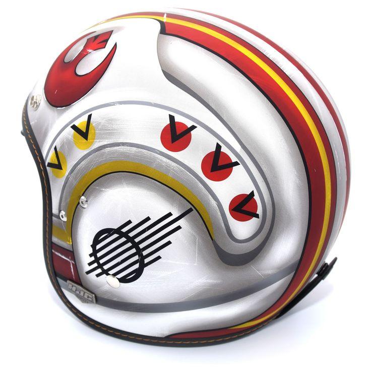 hjc is5 x wing fighter pilot motorcycle helmet 3