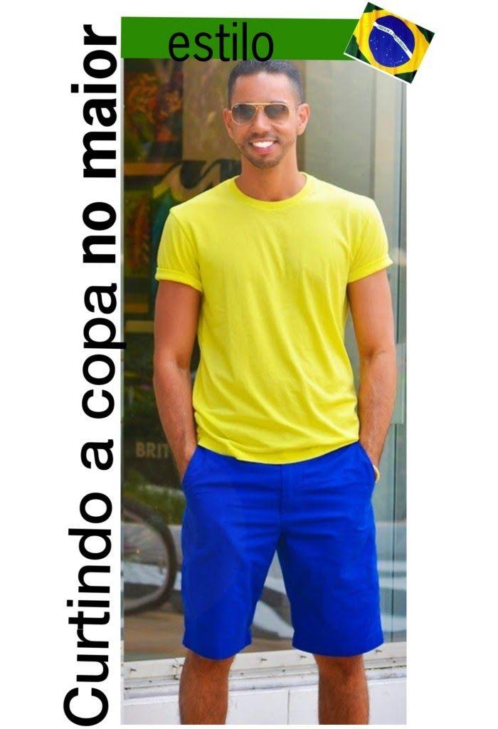 Jeito Simples de Ser: Moda Masculina: Look Colorido e divertido para a C...