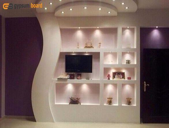 مكتبات جبس بورد Home Decor Home Decor