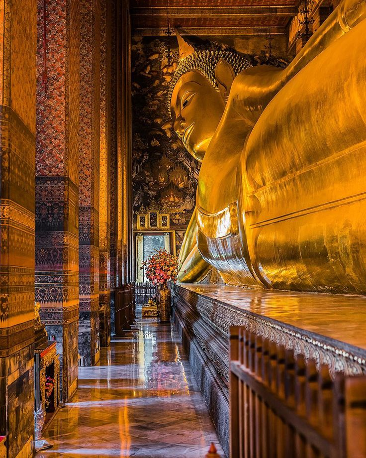 Even the Buddha needs some leisure time. Want to see it with your own eyes? Head over to #Bangkok where the Temple of the Reclining Buddha features an incredible 150 foot golden figure of this renowned figure. But first head to TripAdvisor to book a tuk-tuk tour of the temple (this way you can recline on the tour as well ).