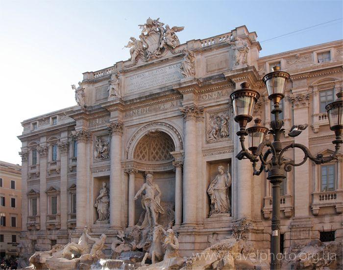 фонтан Треви Рим