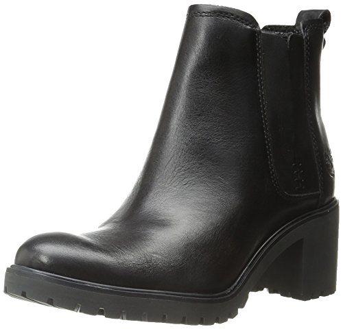 Timberland Damen Averly_Averly_Averly Chelsea Boots, Schwarz (Black Smooth), 36 EU - http://on-line-kaufen.de/timberland/36-eu-timberland-damen-averly-averly-averly-boots-3