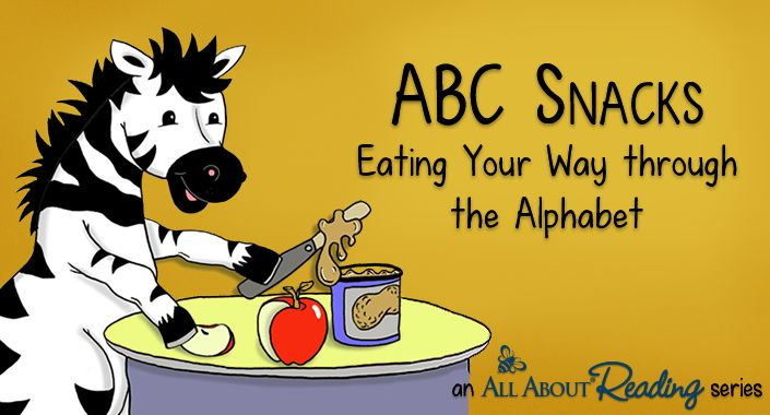 Free ABC Snacks Recipes and Reading Activities Unit from All About Reading | Free Homeschool Deals