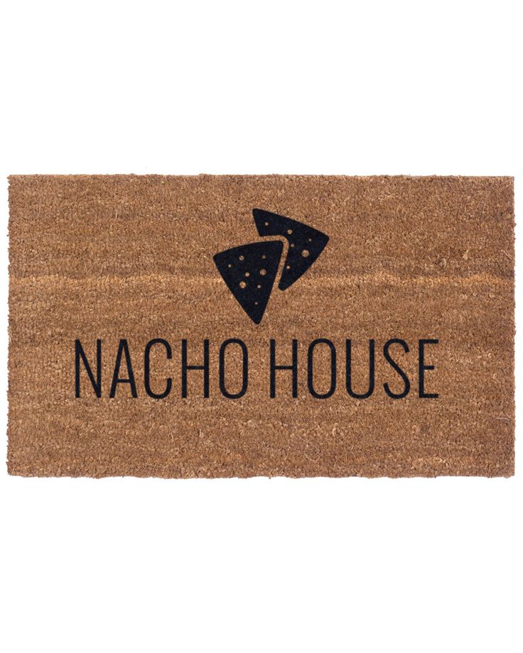 Nacho House Coconut Husk Door Mat is on Rue. Shop it now.