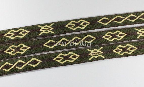 Tablet weaving trim Mammen pattern viking medieval by AriaDiBari