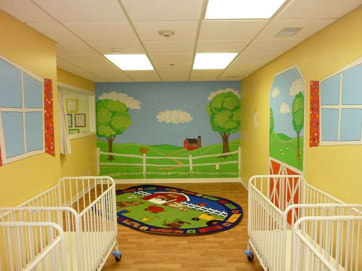 17 best images about daycare pediatrician wall murals for Baby wall mural ideas