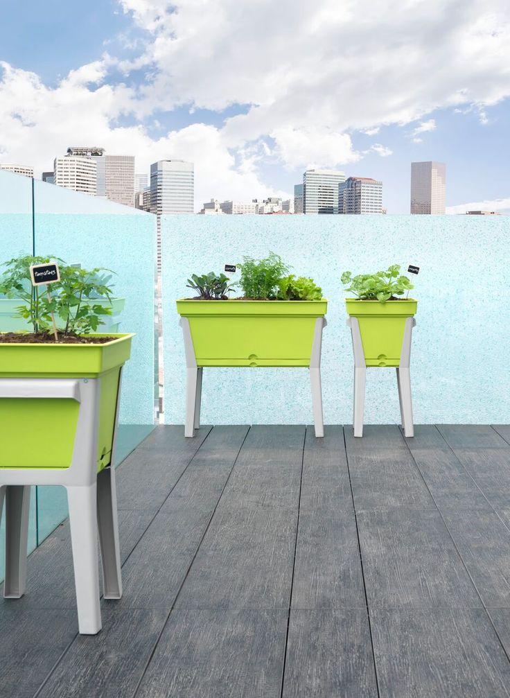Basilio - design grow table by TeraPlast | warzywnik, stół do rozasdu