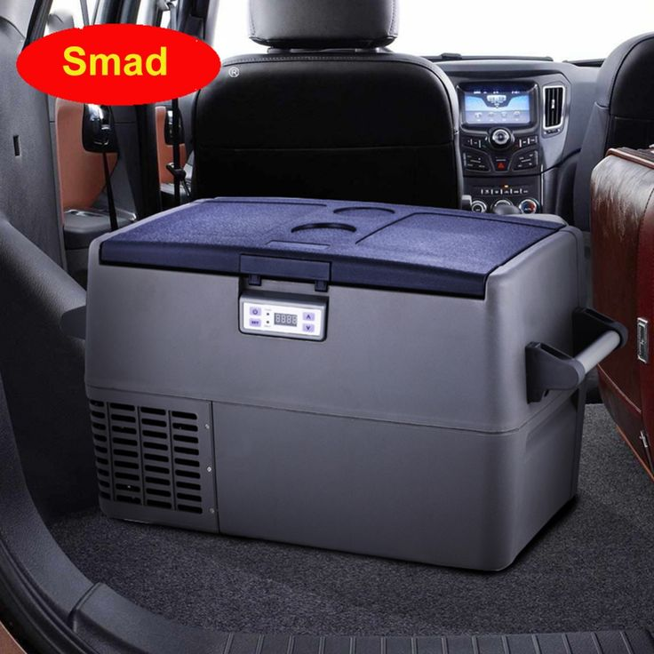 539.00$  Buy here - http://aliuni.worldwells.pw/go.php?t=32790662774 - Smad 1.7 cu ft Mini Portable Compressor Refrigerator Interior Light RV Boat Fridge Freezer Car Truck Cooler Freezer