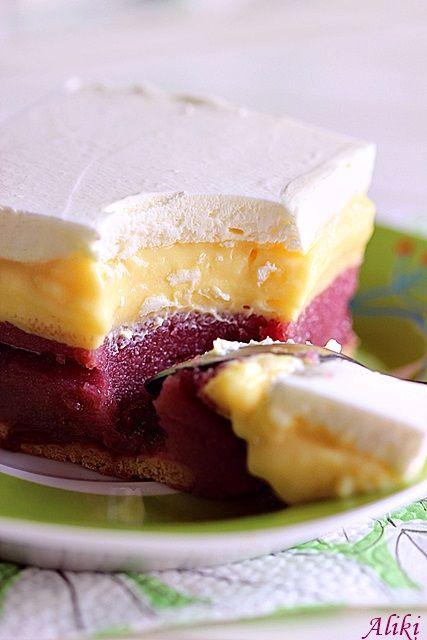 Mamina jela: Krem kolač sa višnjama - 2