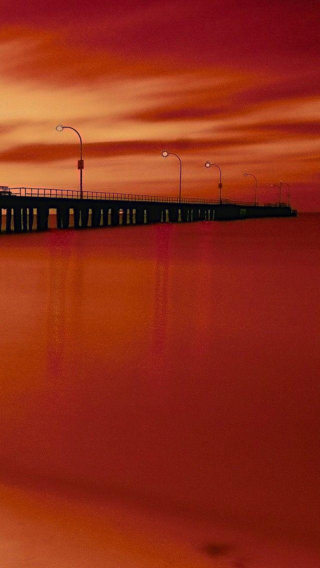 Altona pier, Altona, Victoria, Australia