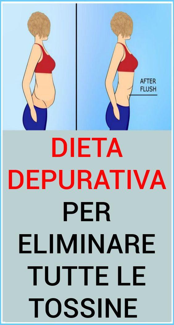 la dieta purificante elimina le tossine