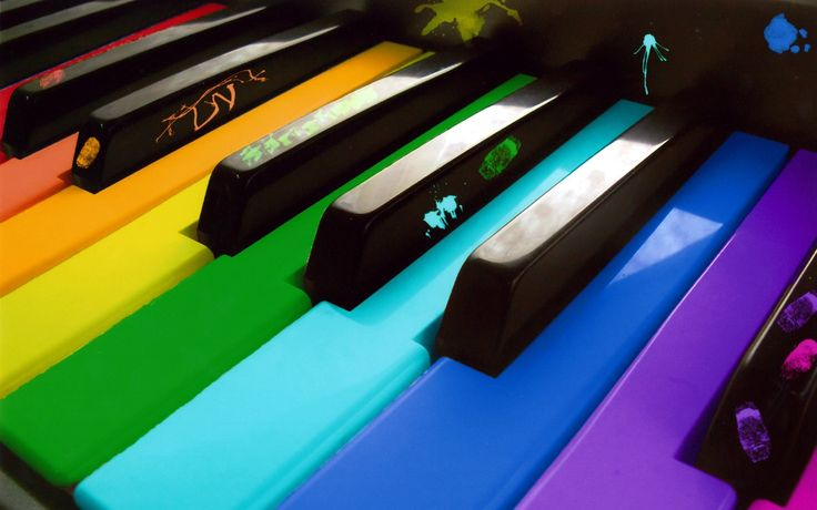 I love rainbows!: Piano Bar, The Piano, Rainbows Colors, Google Search, Music Wallpapers, Paintings Piano, Piano Keys, Funny Wallpapers, Backgrounds Image