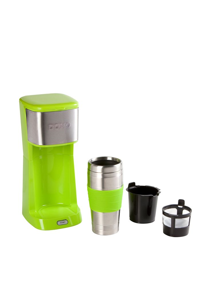 Domo Kaffeemaschine To-Go DO440K grün 49,00 € // bei Amazon BuyVIP 25,95€
