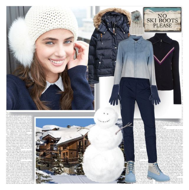 No Ski Boots Please ......... by stylepersonal on Polyvore featuring polyvore, fashion, style, M.GRIFONI DENIM, Isabel Marant, H&M, Swix, Timberland, Inverni, Alpine and skivacation
