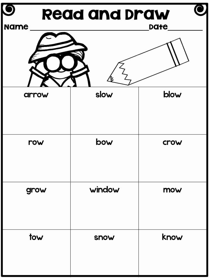 Oa And Ow Worksheets Ideas Long O Vowel Team Oa And Ow Word Sorts Poems Worksheets Phonics Instruction Word Sorts Phonics
