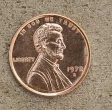how to drill a hole in a penny (p.s. it's not illegal! I looked it up)