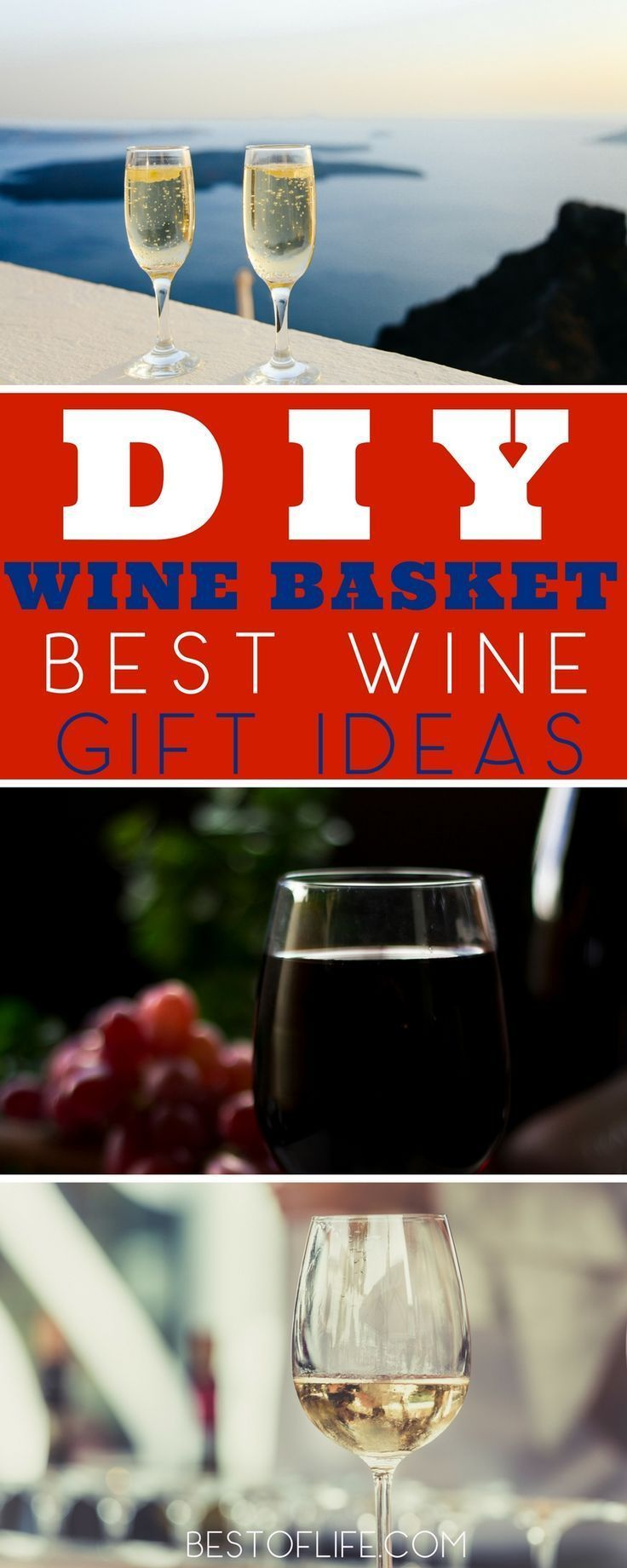 The Best Wine Gifts Are Perfect For Any Occasion These Are Perfect Anytime Gifts To Give The Wine Lover In Your Life O Wine Baskets Wine Gifts Diy Gifts For Him