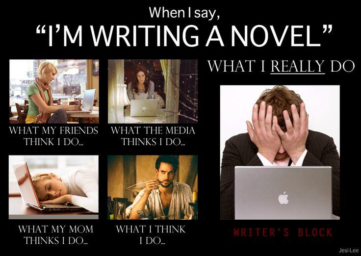 I have writer's block, seriously I do!!?