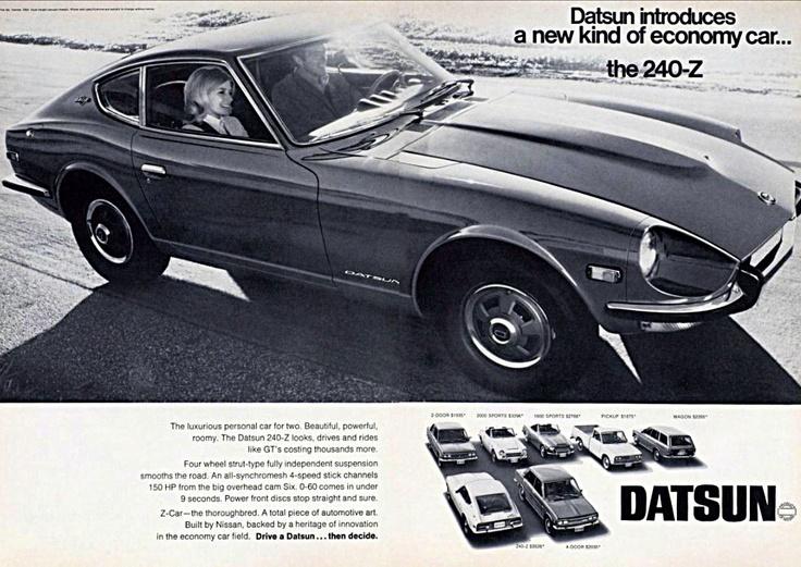 DATSUN 240Z ( NISSAN Fairlady Z )