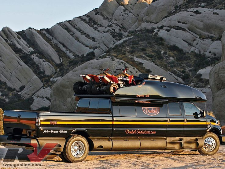 Dunkel Industries brings you this luxury Ford F650 4x4 expedition truck that can take you anywhere you want to go. Check out more at rvmagonline.com, the official website of RV Magazine.