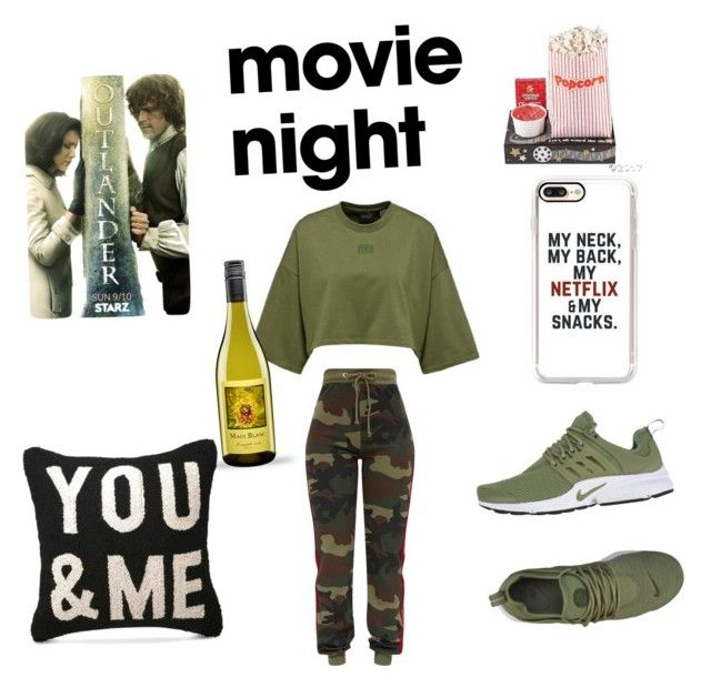 """""""Sunday night with Starz Je suis Prest"""" by alexis-smith-xii on Polyvore featuring Peking Handicraft and NIKE"""