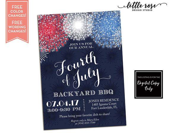 memorial day barbecue party card zazzle com