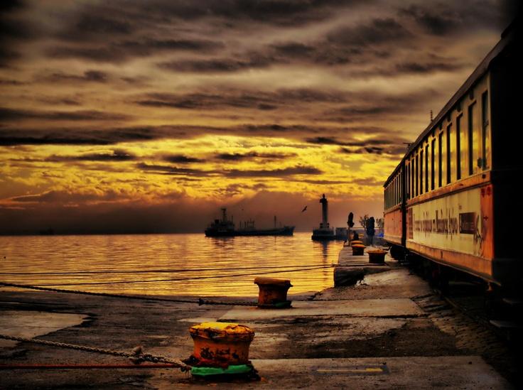 Port of Thessaloniki...